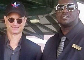 Gary Sinise and Driver Terrell